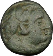 Lysimacheia in Thrace 309BC Ancient Greek Coin Young Hercules NIke Cult  i39115