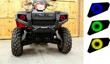 POLARIS HEADLIGHT DECALS STICKER ATV 4 SCRAMBLER SPORTSMAN 850 800 550 400 X2 12
