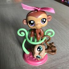 Littlest Pet Shop BOY & GIRL MONKEY TWINS #56 & #57