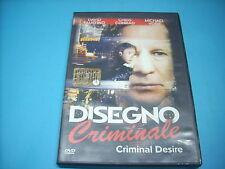 DVD DISEGNO CRIMINALE SPEDIZIONE CON RACCOMANDATA € 4,50 FINO A 5 DVD (C24)