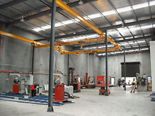 Overhead crane, work station