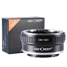 OM-NEX Adapter Ring Olympus OM Lens to Sony Alpha NEX-5 NEX-3 7 F5 5N 5R 6 VG20