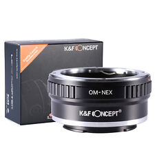 OM-NEX Adapter For Olympus OM Lens to Sony NEX Mount NEX-5 NEX-3 NEX5 NEX3 VG20