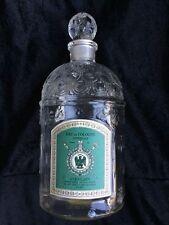 Vintage Guerlain Paris France Perfume/cologne bottle Beehive & bees w/stopper