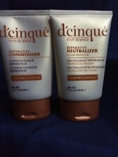 D'CINQUE Hair Science 5-D Repair Color Protect Reparative Neutralizer 1.7oz 2pk