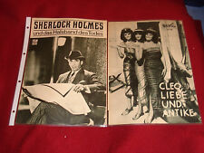 SHERLOCK HOLMES+DAS HALSBAND DES TODES CH. LEE TERENCE FISHER  CARRY ON HEFTE!