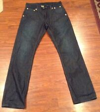 Levi's 514 Slim Straight Special Edition Rigid Indigo Copper Rivet Jeans 30 X 32