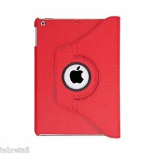 Everything Tablet Lightweight Case for iPad Air - Red Carbon
