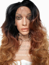 3 color ombre body curl lace front wig Sunset lace front wig beyonce lace wig