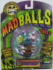 MADBALLS BLECH BEARD Mad Balls MadBall Pirate Zombie Head Gross MOC S2 Retired
