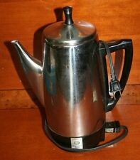 Presto Stainless Steel 12 Cup Percolator Coffee Pot Model 0281103