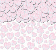 Mega Grand Pack Blanc irridescent cœur table Confettis Paillettes de partie 70g