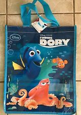 NWT Authentic Disney Store Finding Dory Plastic Tote Gift Bag Hank Octopus Nemo