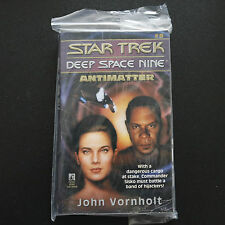 VINTAGE STAR TREK DSN ANTIMATTER PAPERBACK BOOK NOVEL (1994)