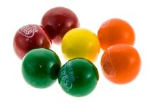 4 LBS NERDS GUM BALLS 1 INCH ASSORTED COLORS WITH CANDY CENTER