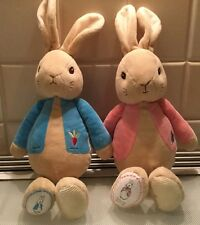 PETER RABBIT AND FLOPSY BUNNY SOFT TOYS. LIKE NEW