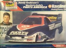 1:24 scale Randy Anderson's  Firebird funny car plastic model kit by Monogram