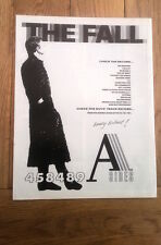 The FALL A Sides UK magazine ADVERT / Poster 12x10 inches