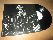 M'BASO sounds of soweto - live SOUTH AFRICAN AFRO - EIGELSTEIN Lp white label 81