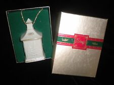 VINTAGE LENOX CHINA 1987 CHRISTMAS ORNAMENT MIB