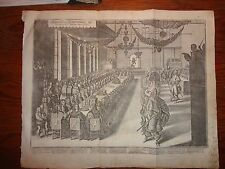 """1640 Banquet from 1745 Johann Ludwig Goffrieds """"Historische Chronica"""""""