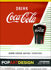 Andy WARHOL Close Cover Before Striking Coca Cola 1962 Pop Art Poster  54 x 41