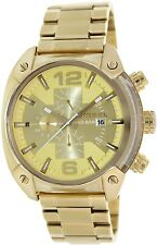 Diesel Men's Overflow DZ4299 Gold Stainless-Steel Quartz Watch