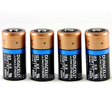 4 x 123 Duracell 3V Ultra Lithium Batteries (CR123, DL123 ,EL123, Medical,Photo)