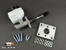 Blox Brake Master Cylinder and Booster Eliminator Plate Silver