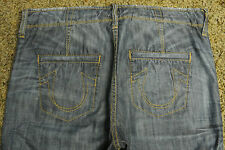 TRUE RELIGION AUSTIN BOARD Shorts 32 NWOT$259 Distressed! Signature Logo Pockets