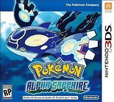 Pokemon: Alpha Sapphire Game Brand NEW sealed Nintendo 3DS rpg