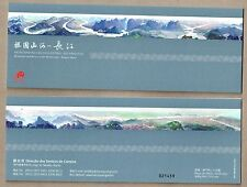 China Macau 2016 Mountain and Rivers Motherland Yangtze River Booklet 長江