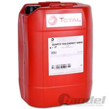 [€3,08/L] 20L 10W40 MOTORÖL TOTAL QUARTZ 7000 ENERGY 10W-40 ÖL VW 501.01/505.00