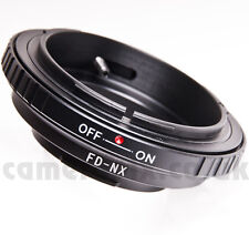 Canon FD lens to Samsung NX Galaxy NX-2000 NX-300 NX-310 1100 mount adapter ring