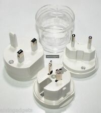 Universal International AC Travel Adapter Plug Set AU EU UK US