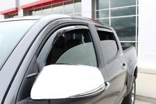 In-Channel Wind Deflectors 2016-2017 Toyota Tacoma Double Cab (4-Door)