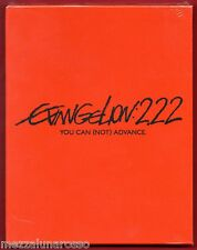 EVANGELION:2.22 - YOU CAN (NOT) ADVANCE - Blu Ray Disc Digipack - LIMITATO RARO!