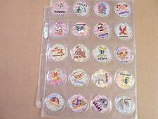 POGS/MILKCAPS FOOTBALL BOINK STREET CAPS 1994 COMPLETE SET OF (30) AWESOME