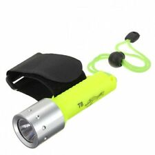 1600 Lumen CREE XM-L T6 LED 18650 Waterproof Diving Flashlight Torch Lamp Light