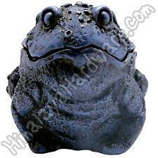 Resin Frog Box: Toad Storage Box Container Ashtray Red White Green Black Blue