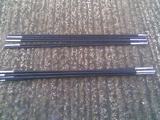 Summit 6 Section Fibreglass 2 X Tent Poles - length 3m25 or 128 inches each pole