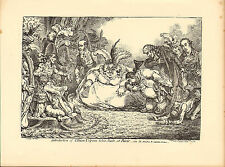1873 james gillray ( the caricaturist ) print. introduction of citizen volpone !