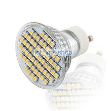 GU10 Warm White 60 SMD 3528 LED Spot Light Spotlight Bulb Lamp 230V 3W