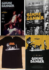 "Gimme Danger (2016) *Original Movie 11""x17"" Poster Set of 3 & Promo T-Shirt (M)"