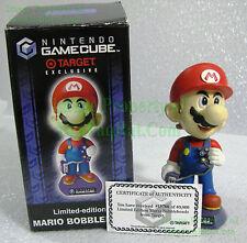 Mario Bobblehead Nintendo GameCube w/ COA 2002 Limited Target Exclusive Bobble
