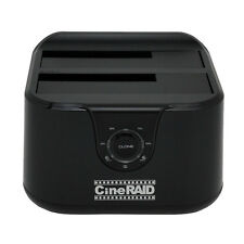 Cineraid CR-H238, USB 3.1 Type C, 2 Bay HDD Duplicator