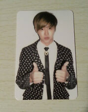 TVXQ DBSK Tohoshinki official photocard Yunho Catch Me