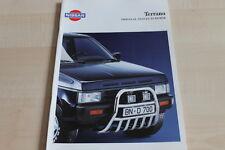 113144) Nissan Terrano - Zubehör - Prospekt 05/1993