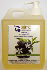 1Ltr Relaxation Premium Massage Oil  Professional Therapists Relax  & Remedial