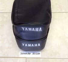 Yamaha RD 250-350 1972-1975 Replacement Seat Cover WHITE DYED Logo+strap(Y44)